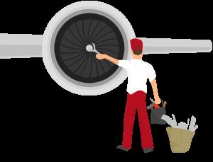 AOG Plane